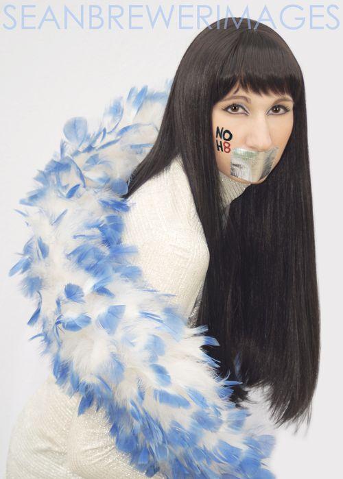 Nancy as Cher