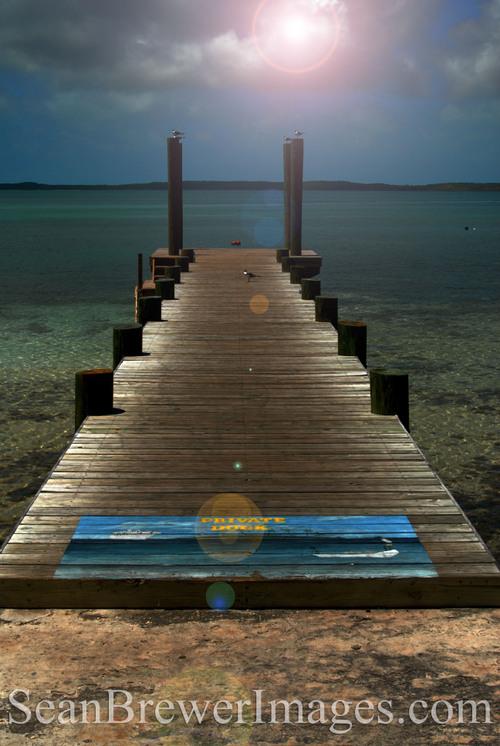 Harbor Island, North Eleuthera. Bahamas