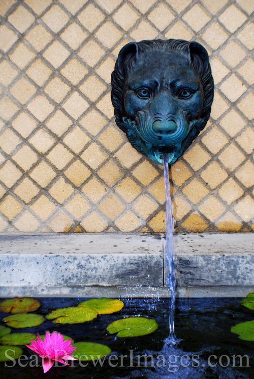 The Getty Fountain